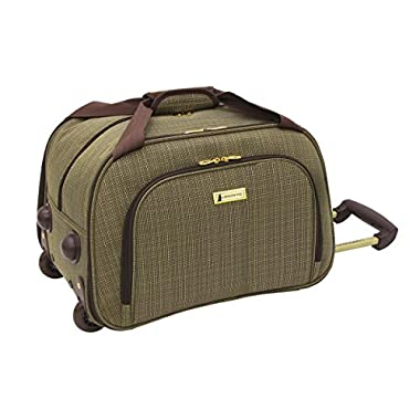 London Fog Chatham 360 Collection 19 Inch Wheeled Club Bag, Tan, One Size