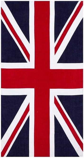 Bath Pool Towel Collection Canadian national flag GREENERY//30x60 British Union Jack,US Flag,100 Euros Pattern Printed Cotton Beach