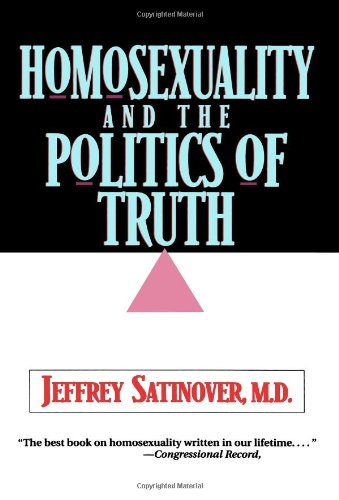 Homosexuality and the Politics of Truth (Data Conversion Best Practices)