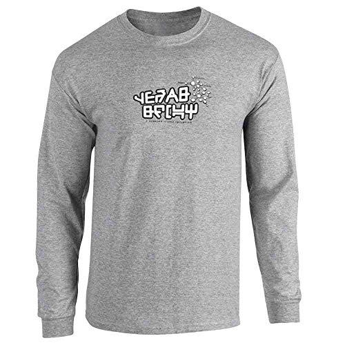 Galactic Gear Shift Nerd Geek Sport Grey M Long Sleeve T-Shirt