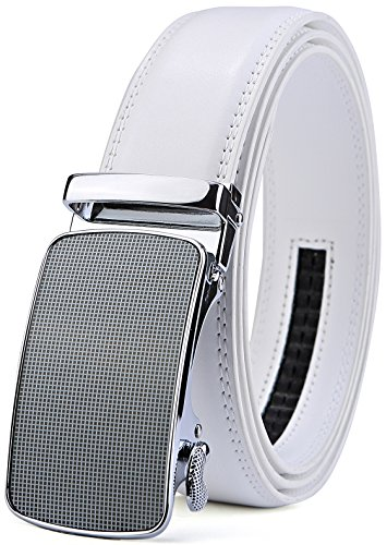 Men's Belt,Bulliant Slide Ratchet Belt for Men with Genuine Leather 1 3/8,Trim to - Golf Belt Golfer