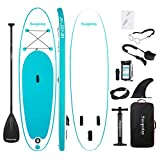 Inflatable SUP Stand Up Paddle Board, Inflatable SUP Board, iSUP Package with...