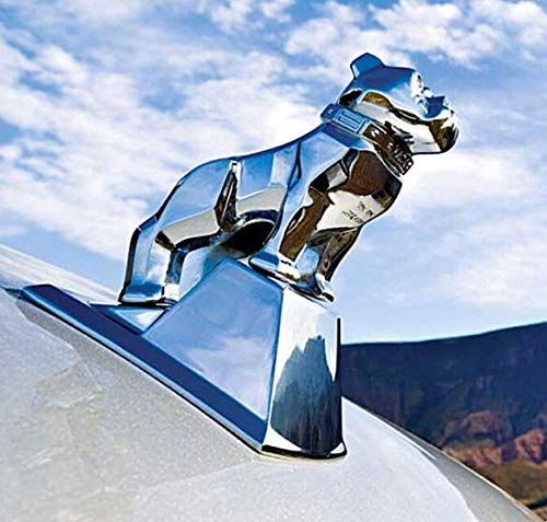 (Mack Trucks Large Polished Chrome OEM Factory Bulldog Hood Ornament )