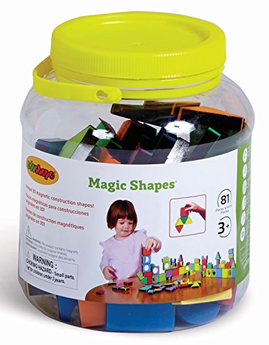 Edushape Magic Shapes Magnetic Foam Building Blocks (81 ()