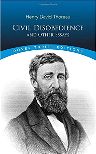 civil disobedience and other essays henry david thoreau  civil disobedience and other essays henry david thoreau 9780486275635 civil rights