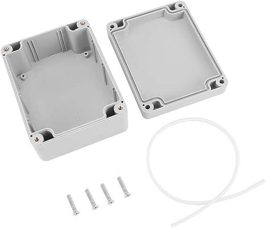 Hlyjoon IP65 Resistente al Agua Caja de Instrumentos de Caja de Proyecto Eléctrico Caja de Conexiones con Tapa Abisagrada Cubierta Puerta PVC(115 * 90 * 55mm/4.52 * 3.54 * 2.16in): Amazon.es: Hogar