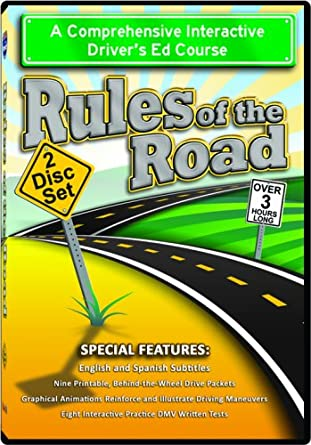 picture relating to Dmv Practice Test in Spanish Printable titled : Suggestions of the Street 2-Disc DVD Fastened: Interactive