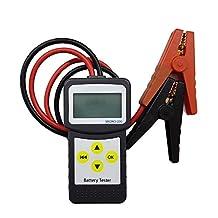 MICRO-200 12V Car Battery Tester Vehicle Digital Analyzer Diagnostic Tool w/ Printing Function EFB/AGM/GEL CCA100-2000, 30-200Ah