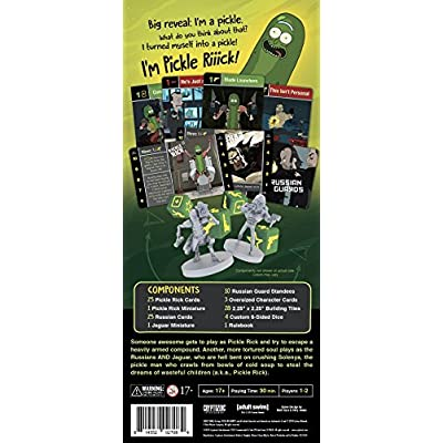 Rick & Morty: The Pickle Rick Game: Toys & Games
