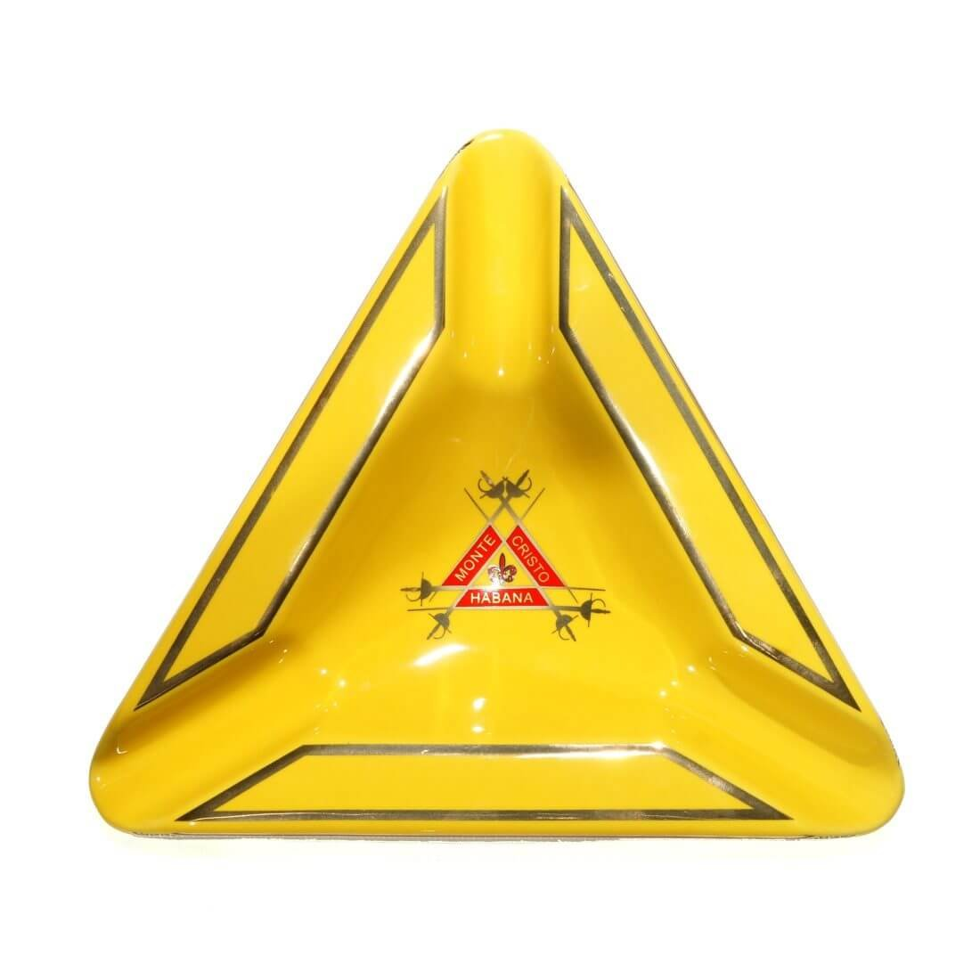 SIKARX Triangle Montecristo Cigar Ashtray - Tray Design for Outdoor, Windproof, Indoor and Patio (SIKARX -1)