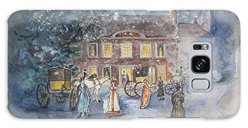 """Galaxy S8 Slim Case """"Scene From Jane Austens Emma"""" by Pixels"""