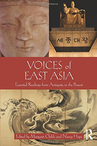 Voices Of East Asia: Essential Readings From Antiquity To The Present