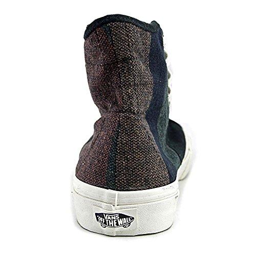 Bestelwagens Sk8-hi Decon Spt Ronde Neus Canvas Sneakers (wolstrepen) Multi / Blan