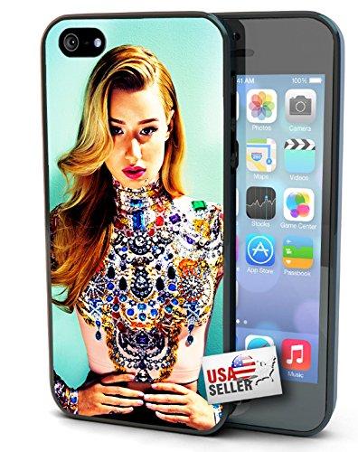"Iggy Azalea ""Jewels"" iPhone 5 / 5S hard case Black, Clear, or White FANCY (Clear)"