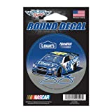 WinCraft Jimmie Johnson Official NASCAR 3 inch Round Car Decal by 068569