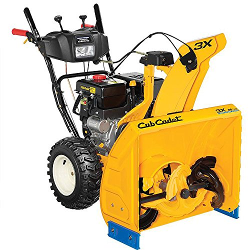 HD Cub Cadet 3X Snow Blower 26'' Gas Powered Electric Start Power Steering PRIOR YEAR MODEL CLOSEOUT by CUB CADET
