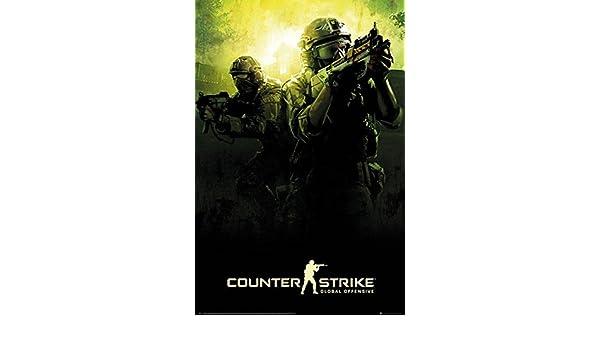 Vistoenpantalla Póster Counter Strike. Global Offensive: Amazon.es: Hogar