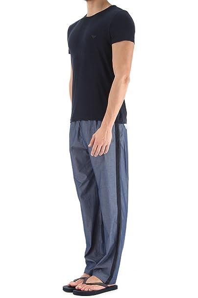 Emporio Armani 1115986P563-Pijama Hombre Blau (BLU 00334) Medium