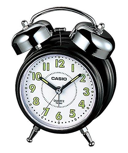Despertador Casio Tq-362-1bf Alarma-Repetcion-Luz: Amazon.es: Hogar