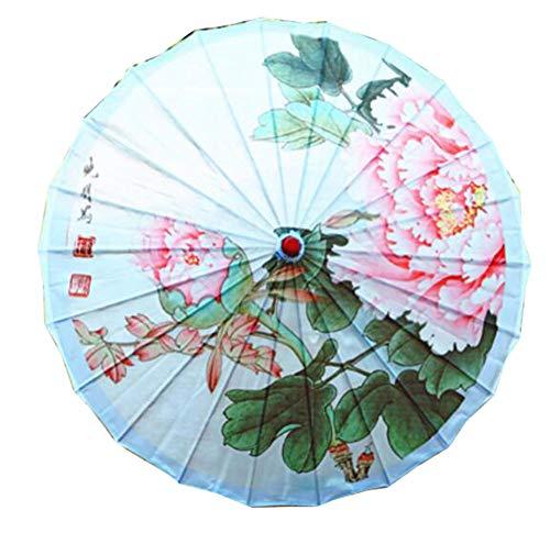 George Jimmy Beautiful Handmade Chinese Cloth Paper Umbrella Cosplay Umbrella Crafts Umbrella Props Decorative