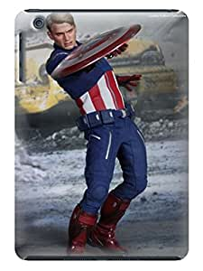 3 packs tpu rubber case combo campatible with ipadmini(Marvel Avengers Captain America) by Kathleen Kaparski