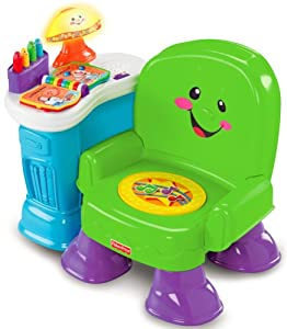 Amazon Fisher Price Song and Story Learning Chair