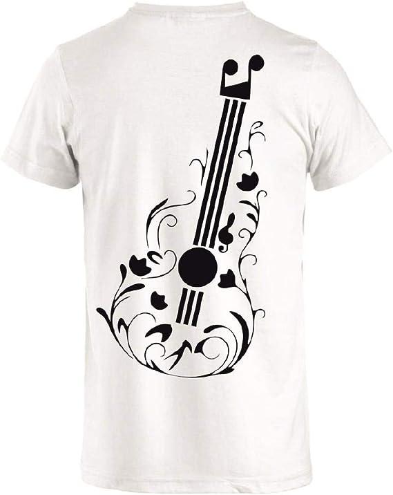 Camiseta Guitarra Love Music Manga Corta Personalizada PS 27431 ...