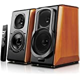 Edifier S2000pro Powered Bluetooth Bookshelf Speakers - Near-Field Active Studio Monitor Speaker with Wireless and Optical Input