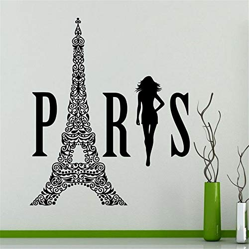 loneer Wall Stickers Art Decor Decals France Fashion Girls Customizable Letters Clothing Store Window Shop Decoration Painting