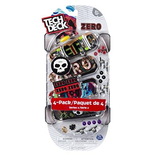 Tech Deck - 96mm Fingerboards - 4-Pack - Zero