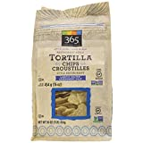 365 Everyday Value White Corn Restaurant Style Tortilla Chips, Lightly Salted, 16 oz