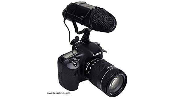 with SDC-26 Case Camcorders and Pro Video Cameras Sony Alpha a7 II Digital Camera External Microphone XM-AD2 Dual Channel XLR-Mini Audio Adapter for DSLR/'s
