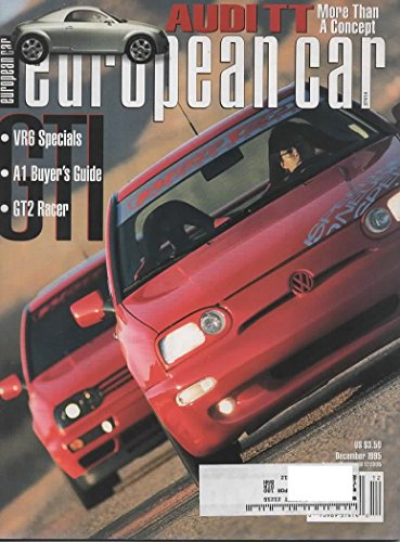 Single Range Wolf Range (European Car Magazine, December 1995 (Vol 26, No 12))