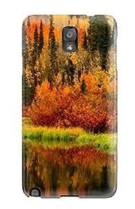 [Hfuaqhr3140XgoRa]premium Phone Case For Galaxy Note 3/ Autumn Tpu Case Cover