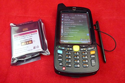 Motorola MC55 Handheld Computer - MC5574 - SiRF III Integrated GPS / GPRS/Edge / 802.11 B/G / 1D Laser Scanner / Color Display / Windows Mobile 6.1 Professional / P/N: MC5574-PUCDURRA9WR by Motorola Solutions