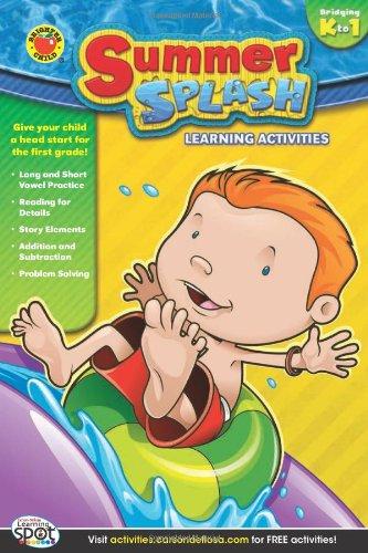 Summer Splash Learning Activities, Grades K - 1 pdf