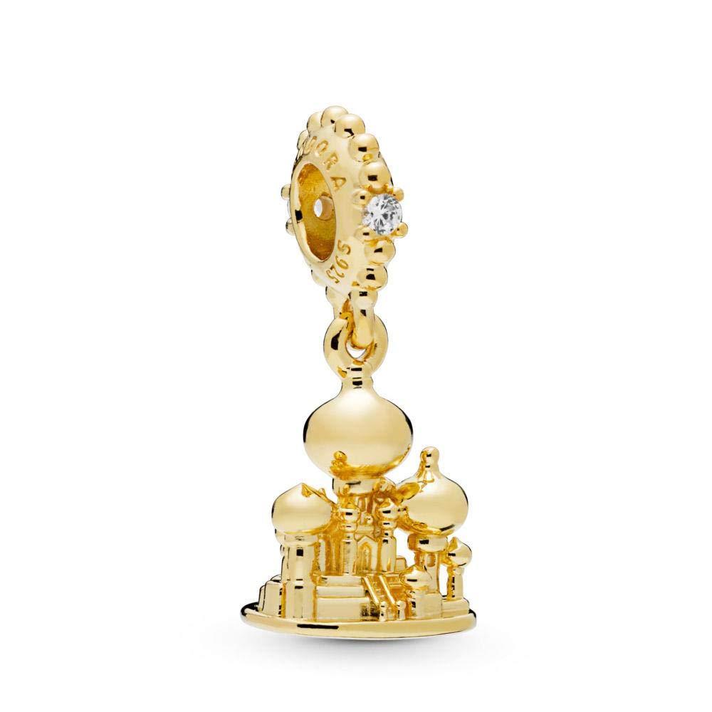 Pandora Shine Disney Agrabah Castle Charm