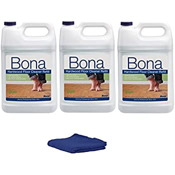 bona hardwood floor cleaner refill 128 fl oz pack of 3