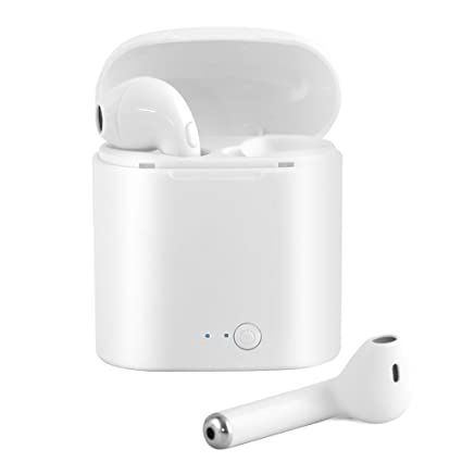 Humupii Auriculares Bluetooth, Auriculares Mini True Auriculares estéreo Auriculares Internos Inalámbricos con Caja de Carga