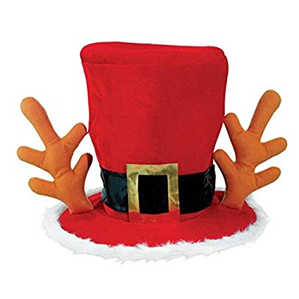 a828e88b72 Image Unavailable. Image not available for. Color  Amscan Mad Hatter Red Hat