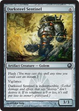 Magic: the Gathering - Darksteel Sentinel - Scars of (Darksteel Magic)