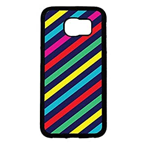 Artistic Pattern Striped Wallpaper Phone Case Cover For Samsung Galaxy s6 Striped Fashionable