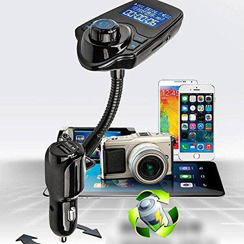"1.5"" Car Bluetooth Mp3 Player MMC Transmitter"