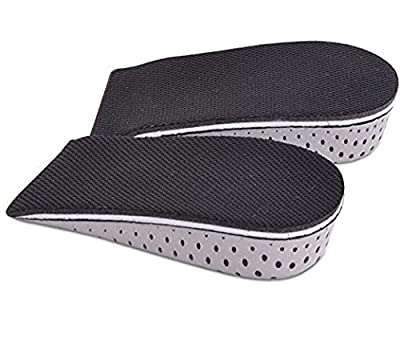 3.3cm Memory Foam Breathable Invisible Height Increase Insole Insert Heel Lifting Shoe Pads Cushion