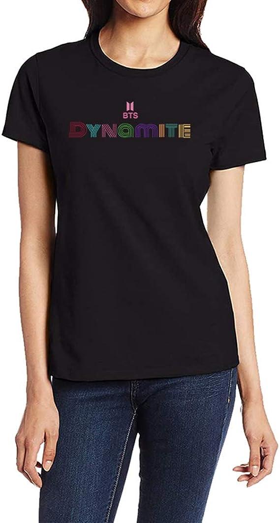 Yhrhredfjh Leotiee - Camiseta unisex de manga corta con cuello redondo y cuello redondo, diseño de Kpop BTS