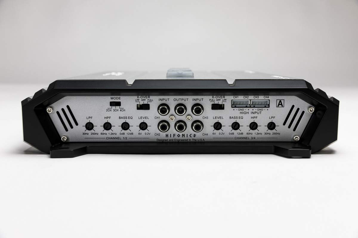 Hifonics Zeus Zxx 6004 600w Class Ab 4 Channel Car Rockford Fosgate R600x5 5 Amplifier With Wiring Kit W Amp Electronics