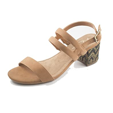 b4930f63312 Aerosoles New A2 Women s Mid Size Heel Sandal Dark Tan 6