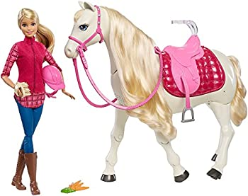 Barbie Dream Horse & Doll (Blonde)