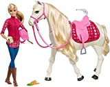 Toys : Barbie Dream Horse & Blonde Doll