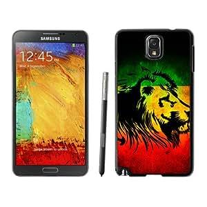 rasta lion one Case 367 Samsung Galaxy Note3 Black Phone Case 367